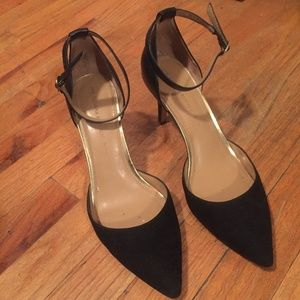 Banana Republic Ankle Strap Pointed Toe Heels
